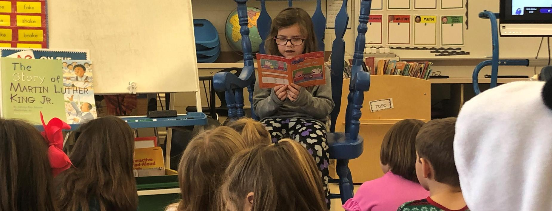 Reading at the CCECC