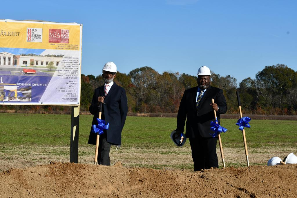 Breaking Ground for the New High School 2020