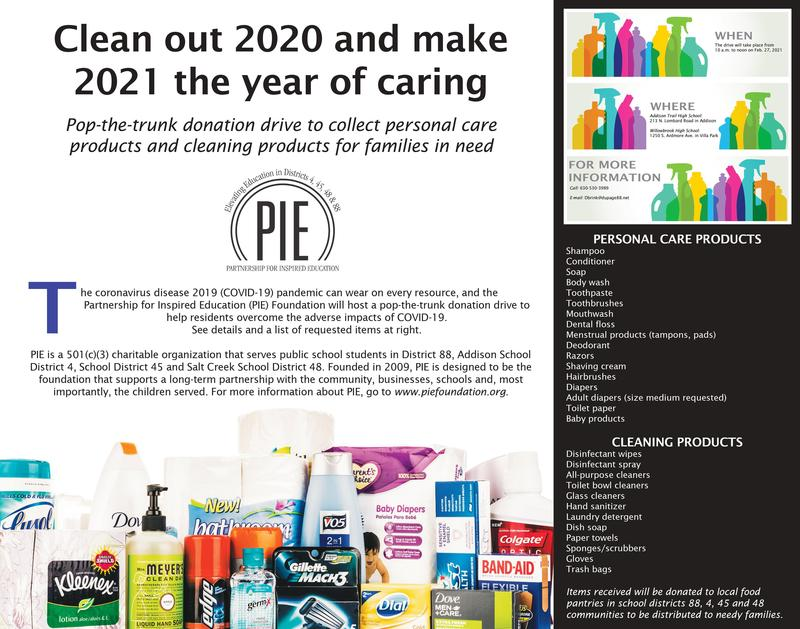PIE Foundation Donation