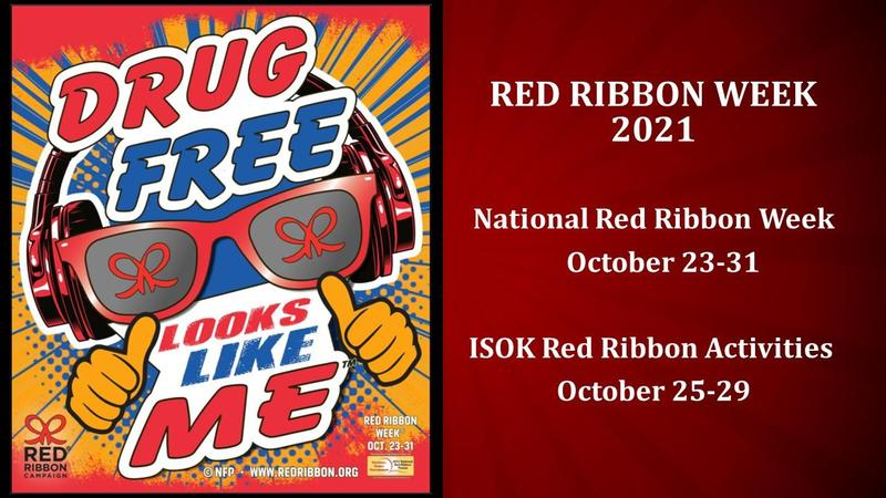 Red Ribbon Week October 25-29 Featured Photo