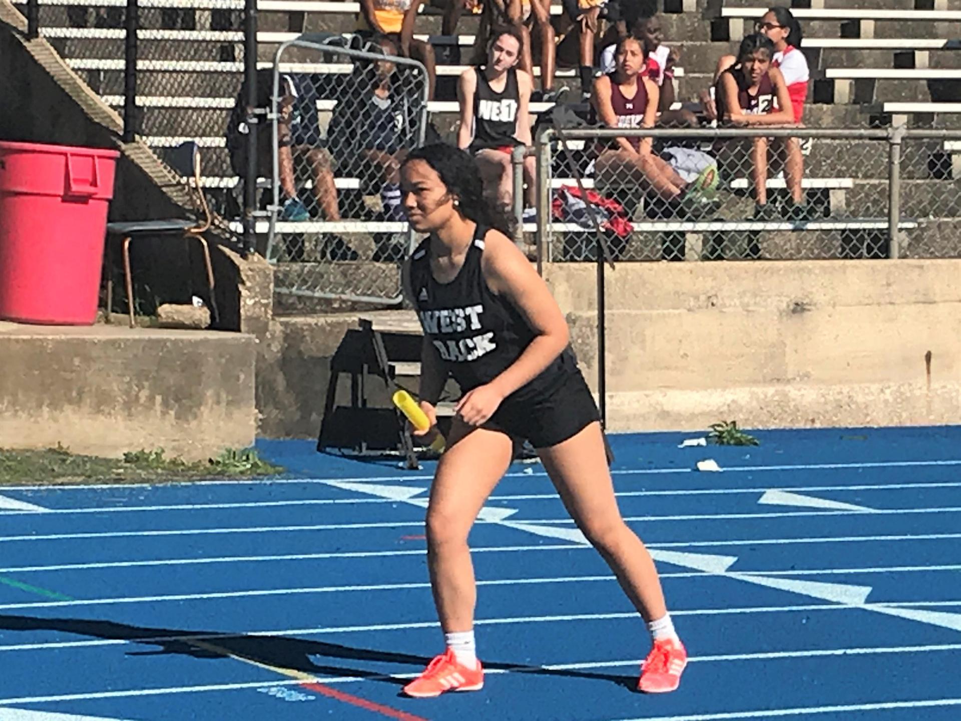WLHS Girls Track Team Race Preps