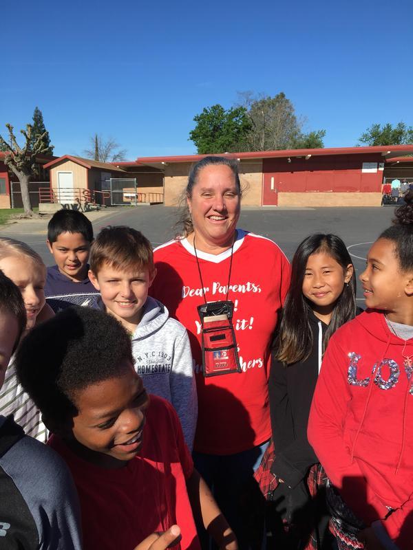 Delanne Mathias  2019 Certificated Employee of the Year  Dudley Elementary School