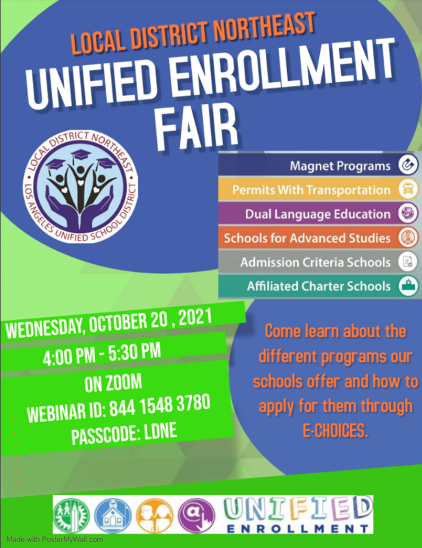 Unified Enrollment Flyer Image