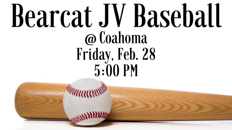 Bearcat JV Baseball