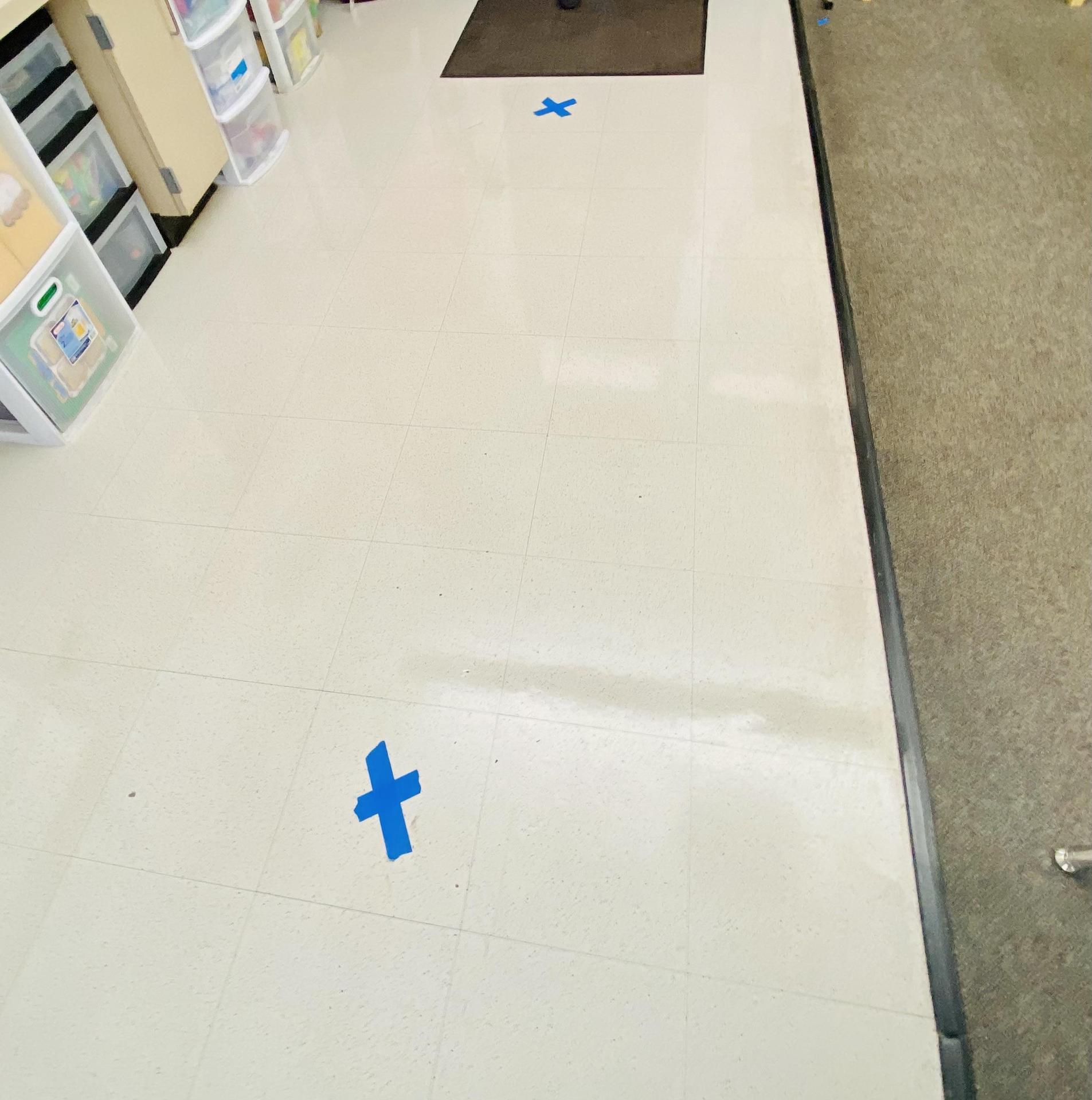 Classroom Floor Markings