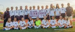 2017 AAJHS Girls Soccer - Undefeated