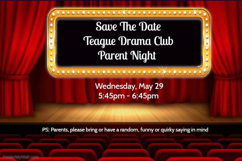 Drama Club May 29
