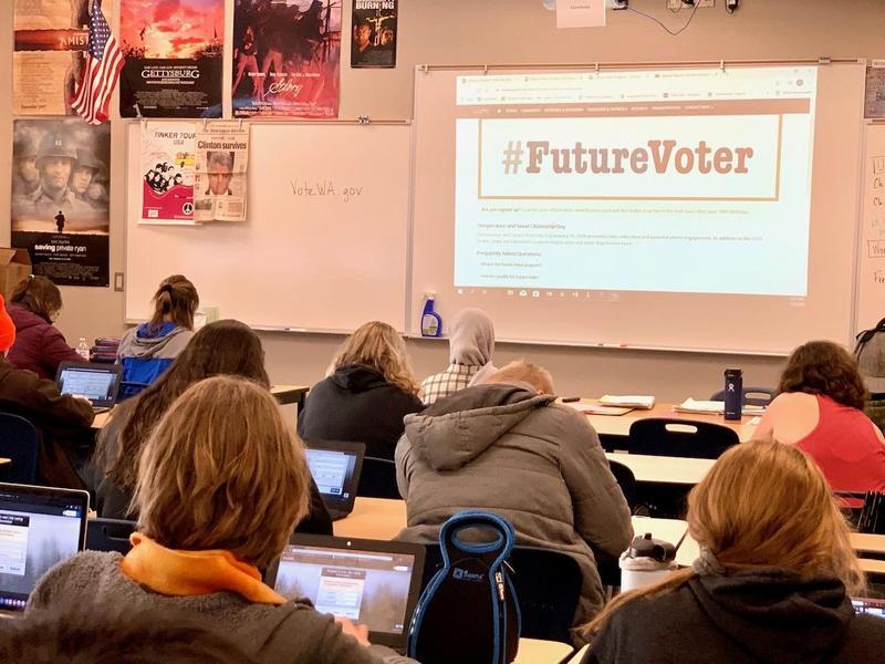 PHS Students, Future Voters! Thumbnail Image