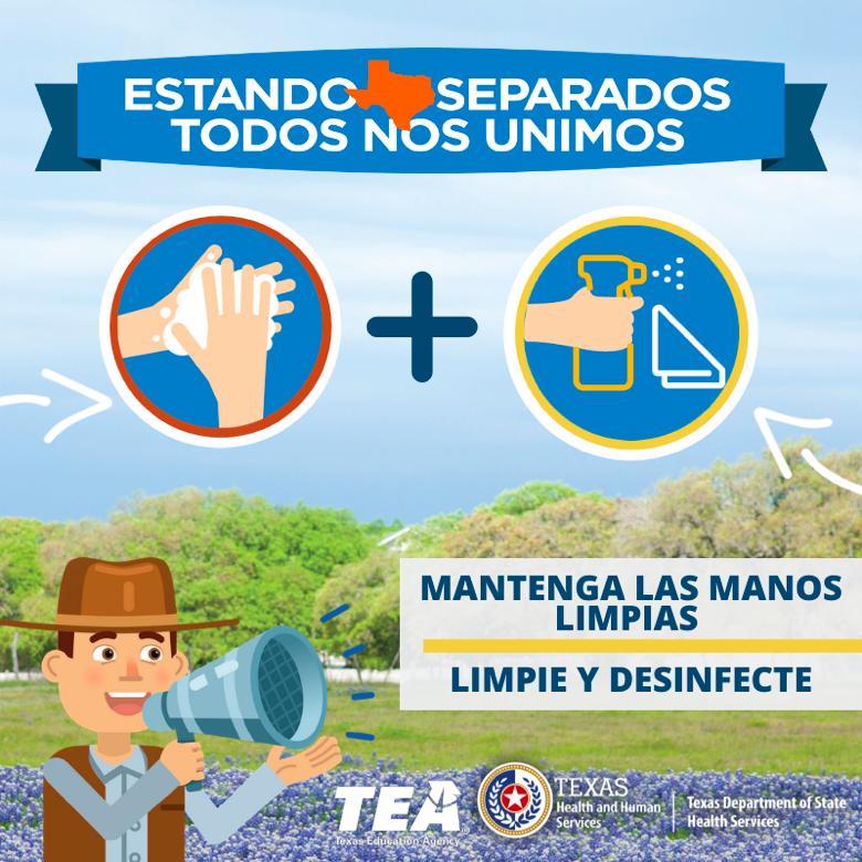 ¡Mantenga las manos limpias! Featured Photo
