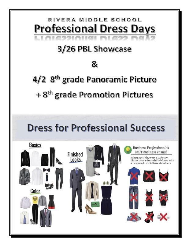 Professional dress day