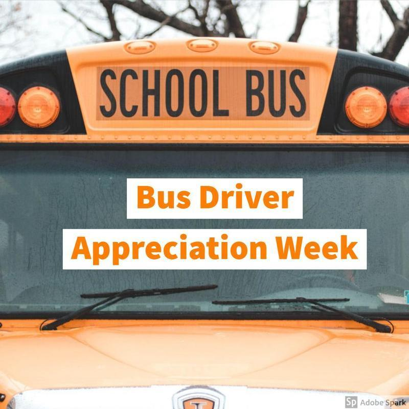 Bus Driver Appreciation Week (10/15-10/19) Thumbnail Image