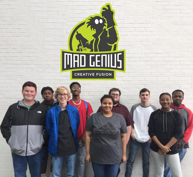Digital Media Technology II visited Mad Genius, Inc. of Ridgeland, Ms Thumbnail Image