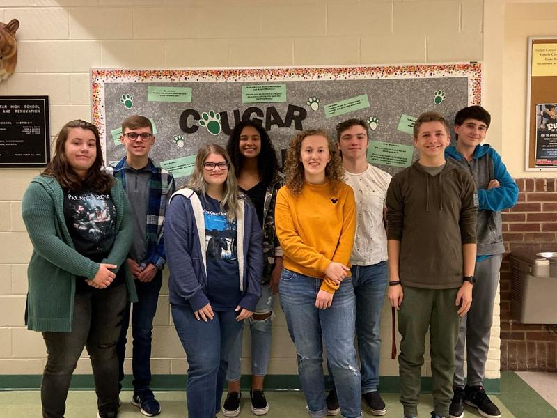 Students of the Month of November Featured Photo