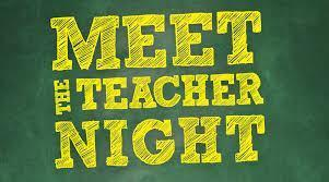Meet the Teacher Night! English Featured Photo