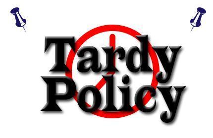 Tardy Policy
