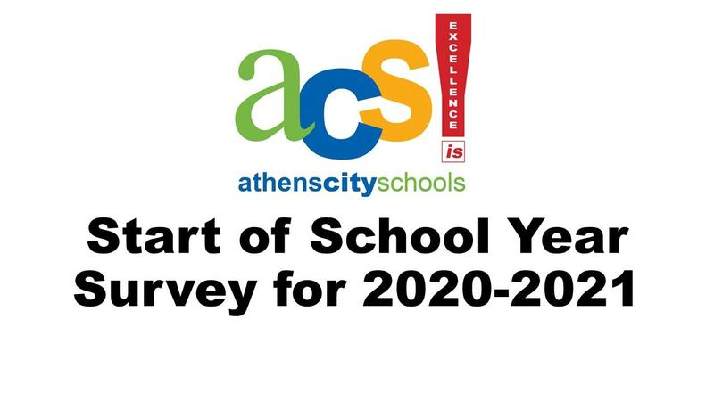 start of school survey
