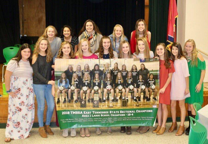2018-2019 GMS Volleyball