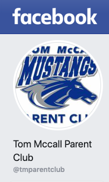Tom McCall Facebook Page with Mustang Logo
