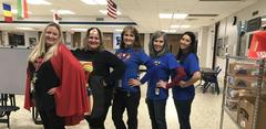 Red Ribbon week: You have the power to stay drug free- Superhero Day