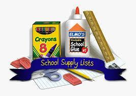 School supply List logo