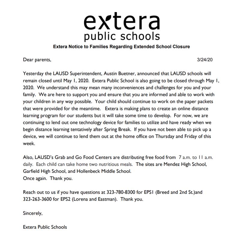 School Closure Update Featured Photo