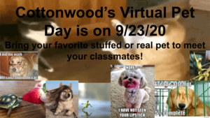Virtual Pet Day Flyer