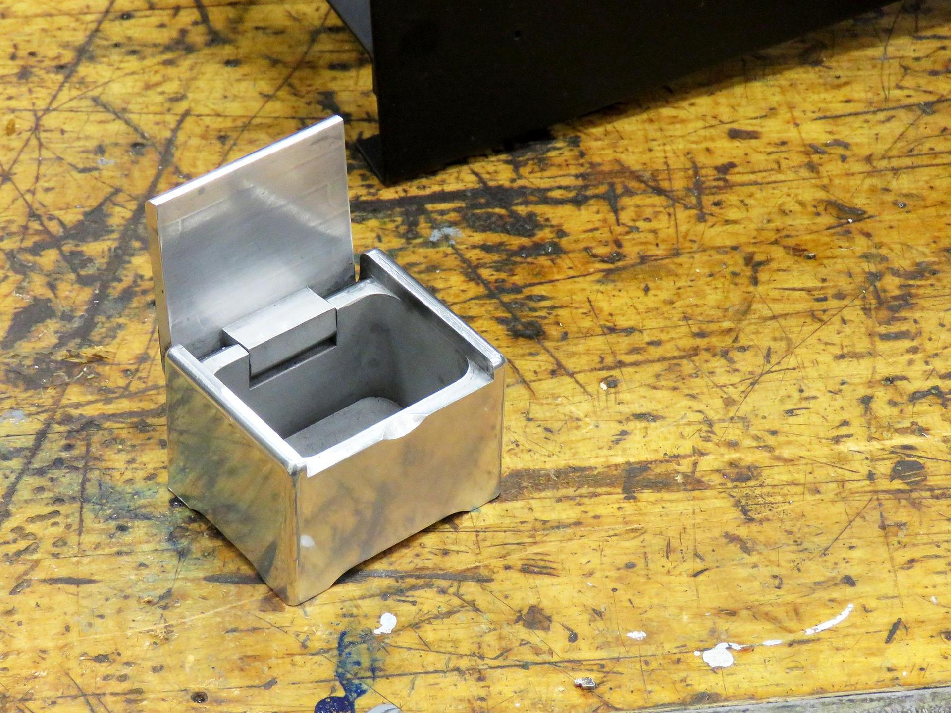 A jewelry box made in machine tool technology class