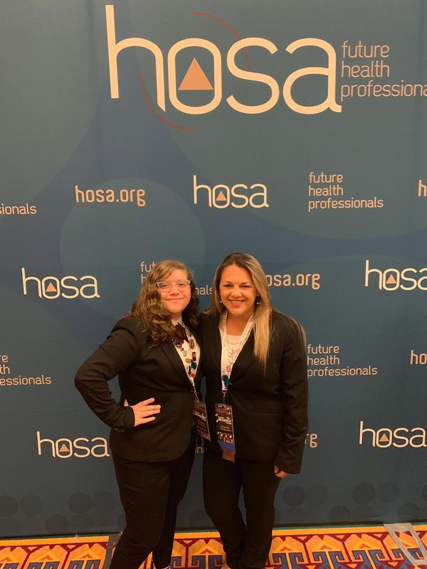 Rembrandt Secondary student Places in the top 5 at the National HOSA Competition!!! Featured Photo