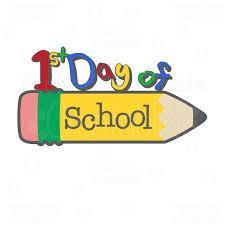 1st day of school pencil