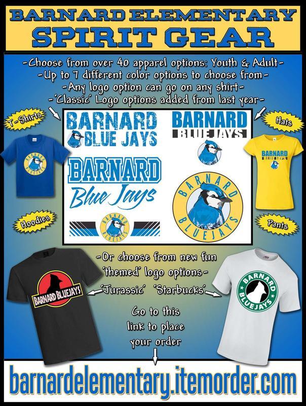 Barnard Spirit Wear