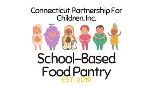 Connecticut Partnership for Children school-based food pantry Est. 2019