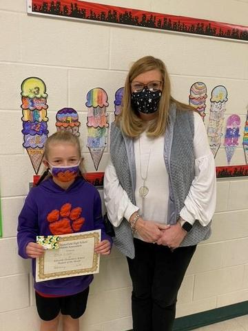 February Student of the Month Featured Photo