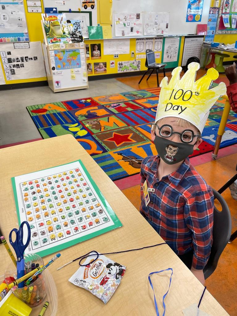 100th Day Activity