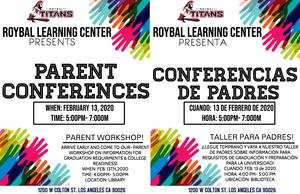 RLC Parent conferences