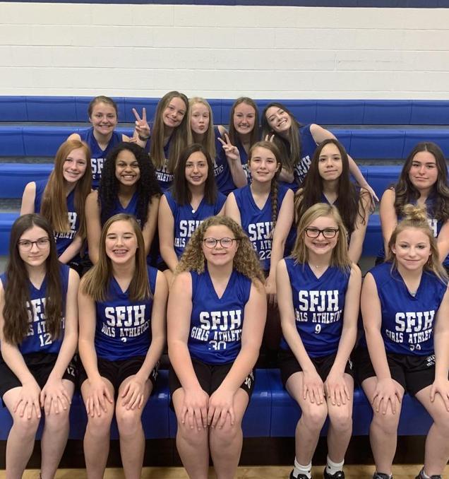 SFJH 8th Grade Girls Track