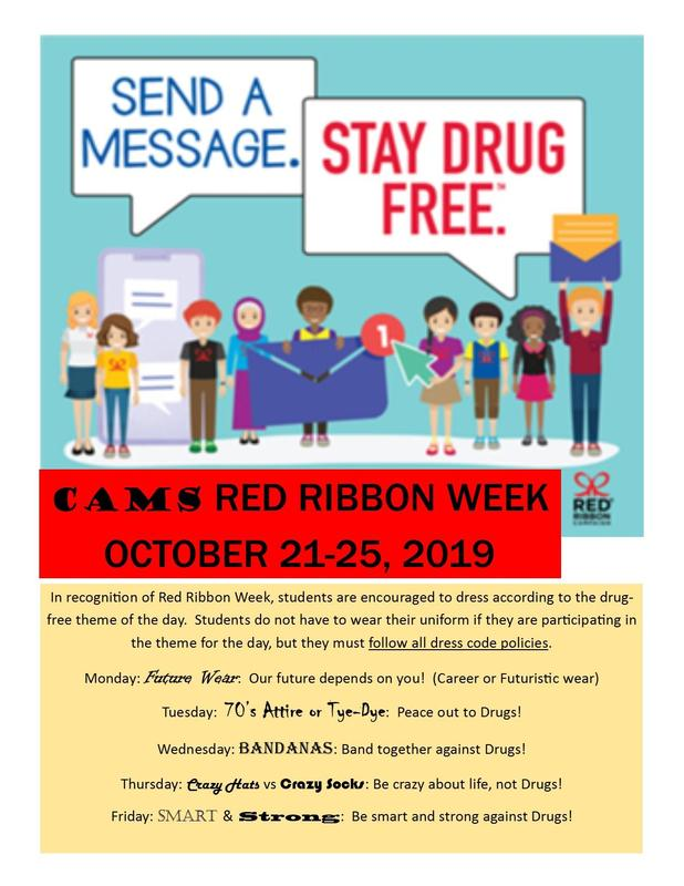 Red Ribbon Week Flyer Featured Photo