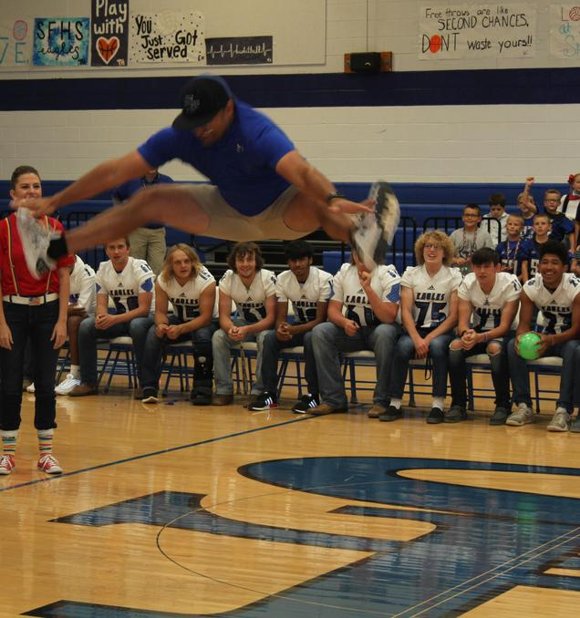 Jump contest