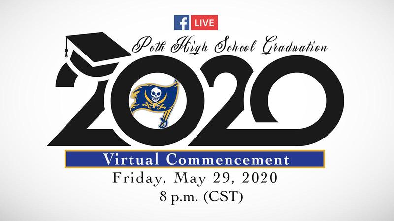 Poth Graduation May 29, 2020!! Thumbnail Image