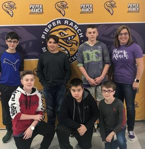 PRMS CyberPatriot Rookie Team