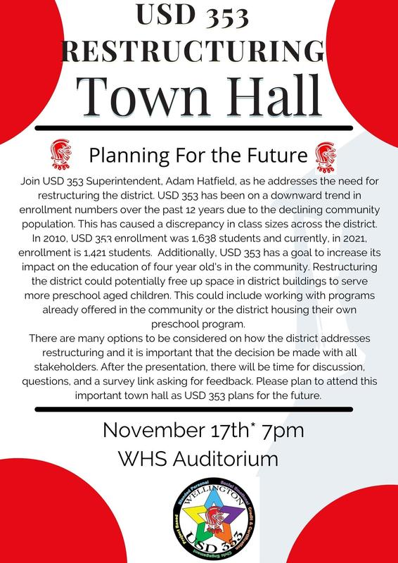 USD 353 to Hold Restructuring Town Hall Featured Photo