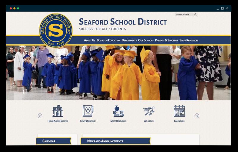 School Website Design of the Week: 10/18/18 Featured Photo
