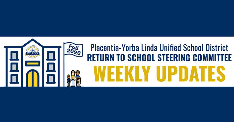 Weekly update.