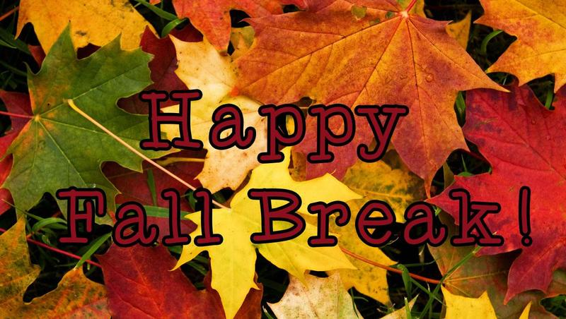 No School November 27-29: Enjoy your Fall Break! Featured Photo