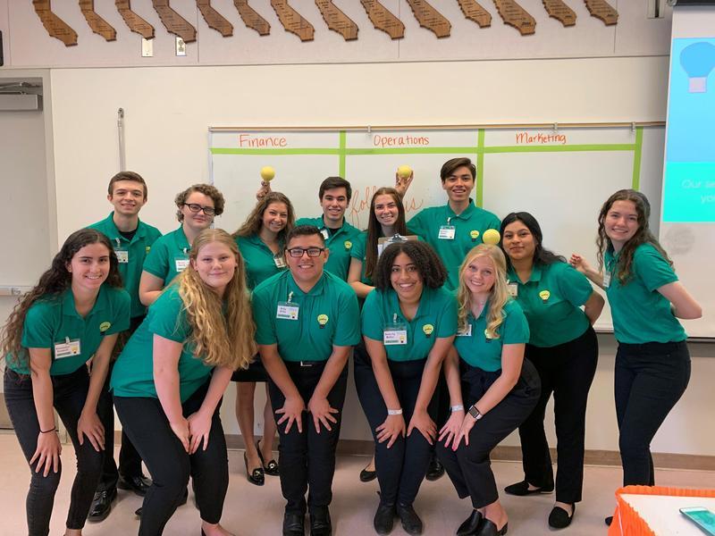 Centennial High School's Virtual Enterprise team