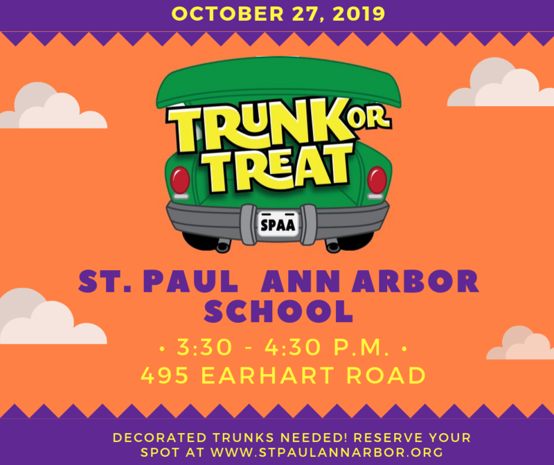 Trunk or Treat October 27 Thumbnail Image