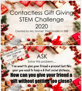 Christmas themed challenge description