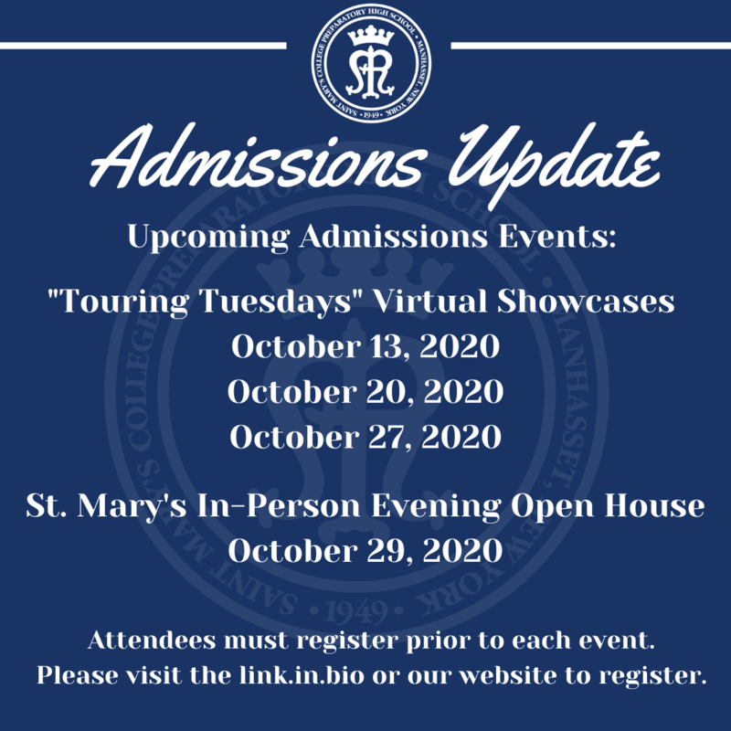 Admissions Update! Featured Photo