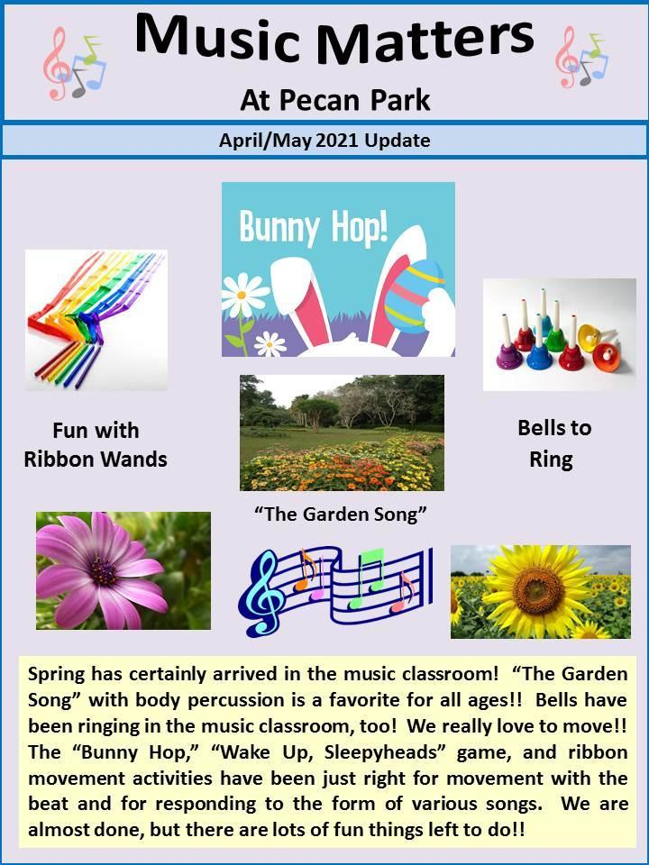 Music Newsletter April-May 2021