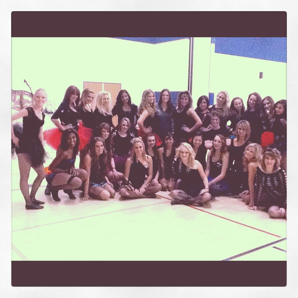 Dance team group photo 2012