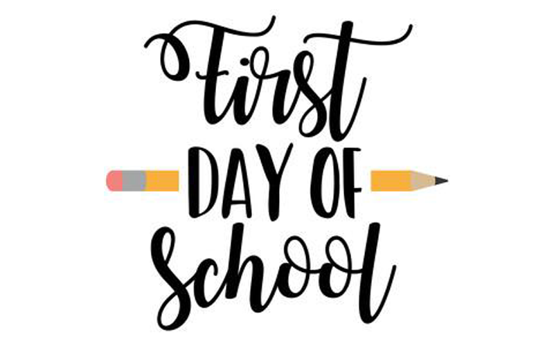 First Day of School : Thursday, August 19, 2021 Featured Photo